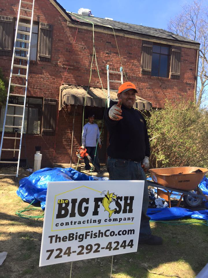 The big fish contracting co in pittsburgh for Big fish company